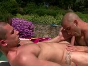 Pornstar hunk Austin Wilde blowjob
